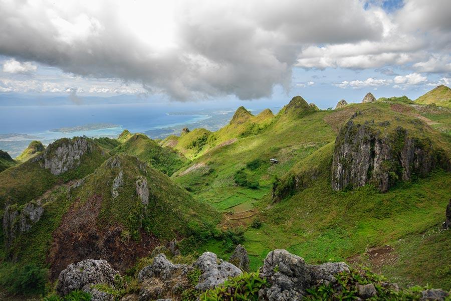 Trekking Osmena Peak on Cebu Island