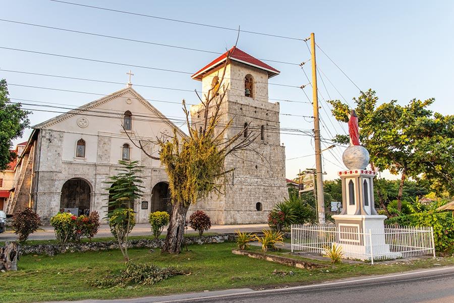 Baclayon Church in Tagbilaran City, Bohol
