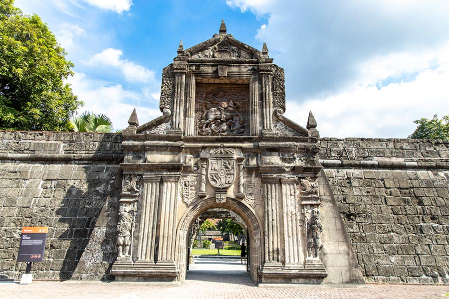 Fort Santiago Gate - Must-visit places in Manila