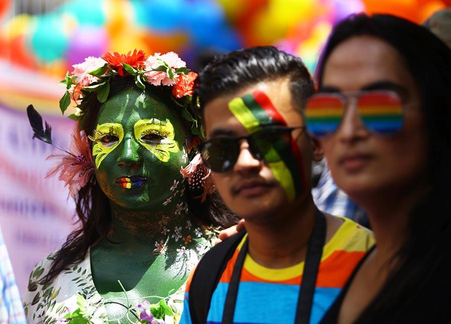 Gay march in Kathmandu - LGBTQ-friendly city in Asia