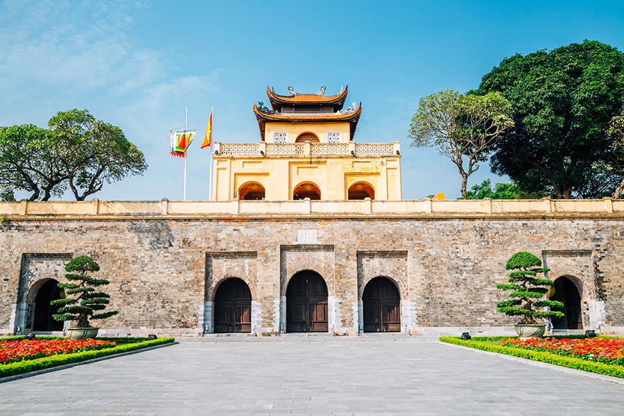 Thang Long Imperial City in Hanoi