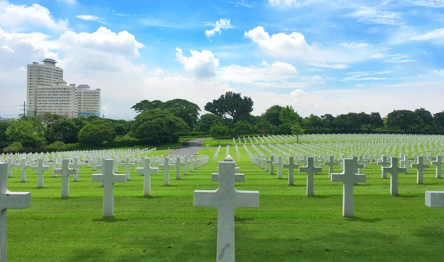 American Cemetary in Manila